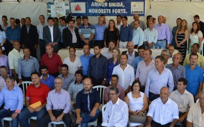 AMNOR recebe Antônio Andrade
