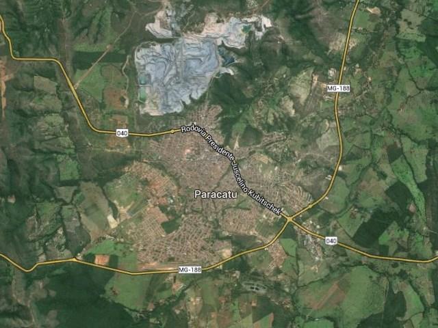 Paracatu-Mapa