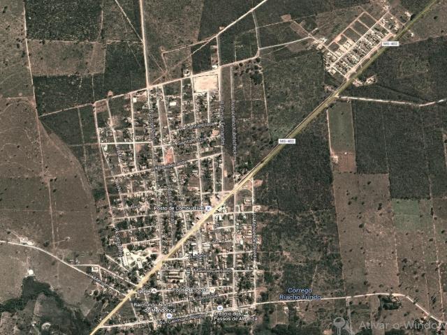 Pintopolis-Mapa